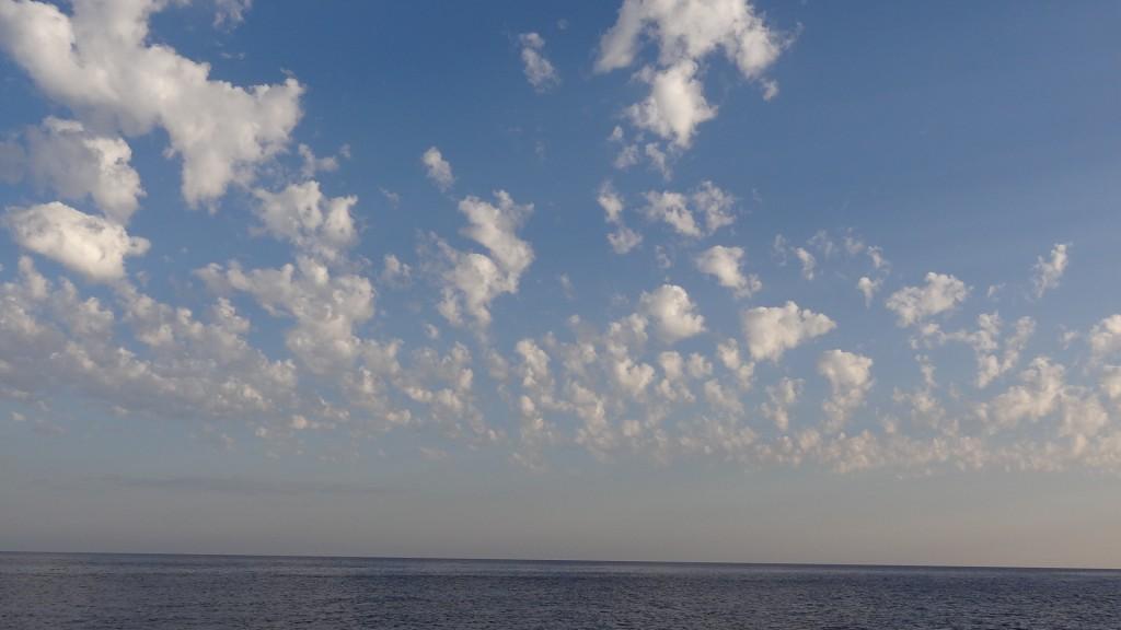 Wolkenlandschaft.